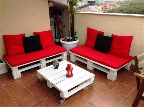 cheap easy pallet outdoor furniture diy