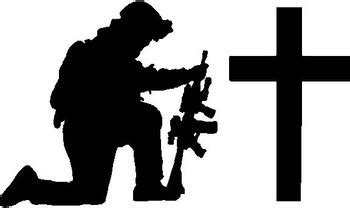 jeep beer decal soldier praying at cross vinyl cut decal