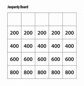 jeopardy template powerpoint 2007 - jeopardy game template 7 download documents in pdf ppt