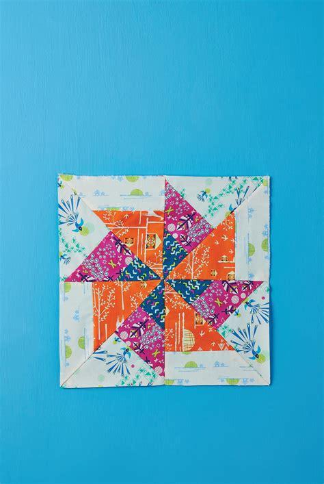 patchwork collectable series pinwheel block  sewing