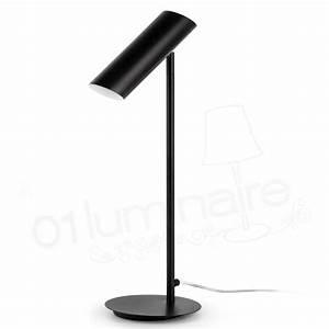 Lampe A Poser Noire : lampe poser link noire 29882 faro ~ Teatrodelosmanantiales.com Idées de Décoration