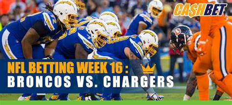 Chargers Host Broncos in NFL Week 16 Battle for Last Place ...