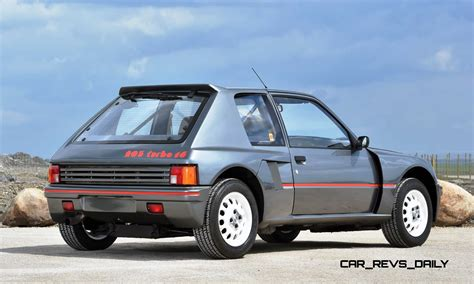 Peugeot 205 Turbo 16 by 1984 Peugeot 205 Turbo 16 Is Most Valuable Post War Pug