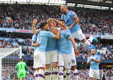 Manchester City Vs Brighton : Premier League 2019/20: Man ...