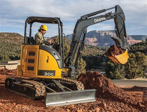 john deere excavators summarized  spec guide compact equipment