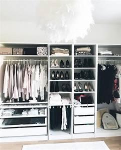 Kleiner Kleiderschrank Ikea : instagram kleiderschrank ankleide zimmer kleiner schrank ~ Watch28wear.com Haus und Dekorationen