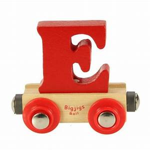 bigjigs name train letter e gbp249 bigjigs name train With baby name train letters