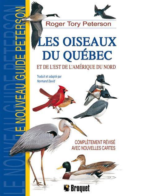 grand classique cuisine les oiseaux du québec et de l est de l amérique du nord