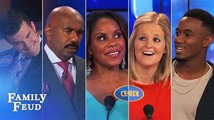 ALL-TIME GREATEST MOMENTS in Family Feud history!!!   Part ...