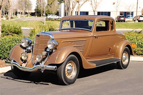 1934 Chrysler Coupe by 1934 Dodge Coupe Ramshead Automobile Collection