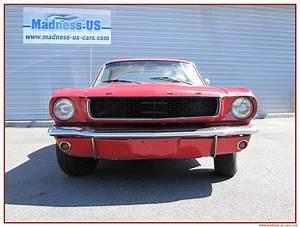 Madness Us Car : ford mustang coup 1966 restaurer ~ Medecine-chirurgie-esthetiques.com Avis de Voitures
