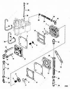 Mercury  Mariner V-200 Efi 2 5l  Fuel System