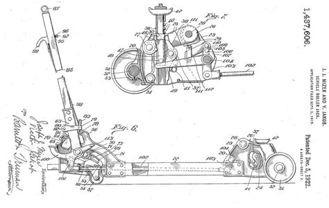 Walker 4 Ton Floor Jack Parts Diagram
