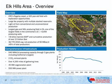 california resources crc presents  goldman sachs