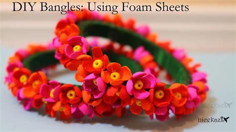 diy bangles  foam sheets favecraftscom