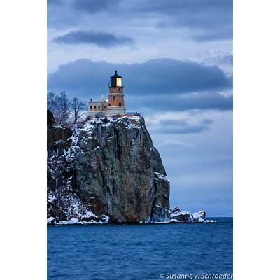Split Rock Lighthouse Lake Superior North Shore Nature