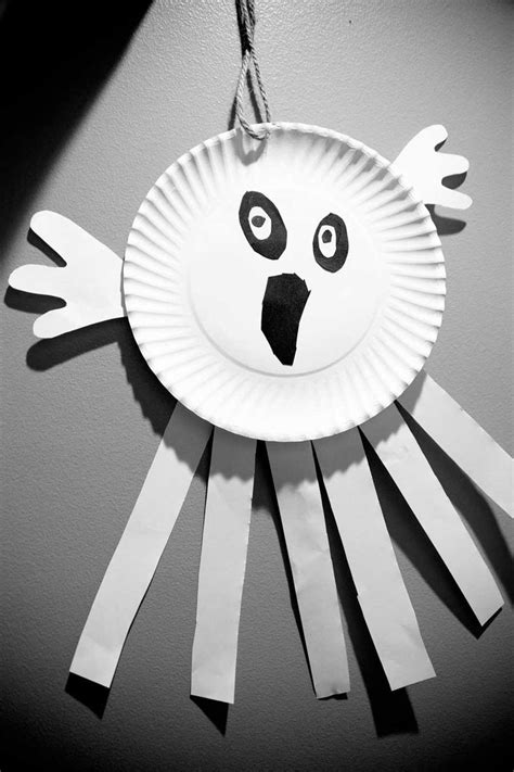 paper plate ghost 16 best fall images on 2636