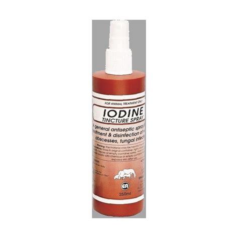 iodine spray tincture tack nz print
