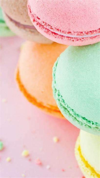 Pastel Dulces Fondos Iphone Pantalla Macaron Girly