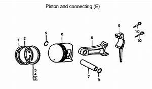 Piston Assy Diagram  U0026 Parts List For Model Apg3560 All