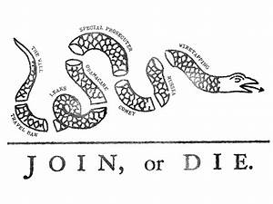 Join or Die Snake by Michael Pisano - Dribbble