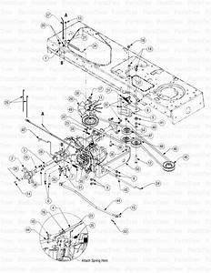 Cub Cadet Lt1045 Parts With Diagrams