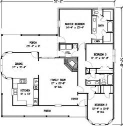 Simple House Designs And Floor Plans Plan 1929gt Simple Country Farmhouse Plan Country Farm Houses House Plans And Farmhouse Plans