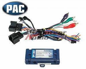 General Motors Car Stereo Radio Wiring Install Harness