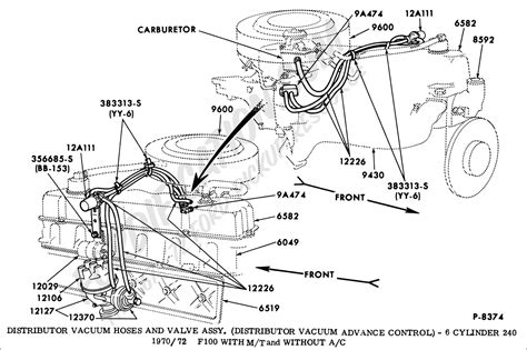 1970 Ford F600 Wiring Diagram by Ford Truck Technical Drawings And Schematics Section I