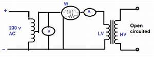 open circuit short circuit test of transformer With shortcircuit or impedance test