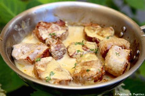comment cuisiner un filet mignon de porc en cocotte filet mignon à la moutarde et à la crème