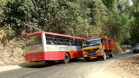 Candidates with 10th class can apply online. Namma KSRTC Bus crossings & climbing the curvy ghat roads ...