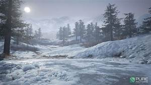 Realistic Snow Ground Creation In UE4