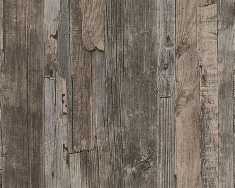 Graues Holz by Vliestapete Holz Optik Holzwand Braun Lut 232 Ce 95405 1