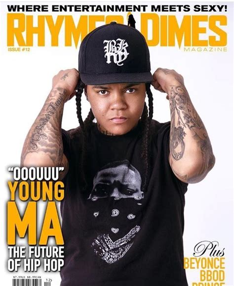 """foto de Young M A the Voice Behind """"You Call Her Stephanie I"""