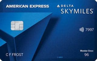 The delta skymiles® gold american express card offers 40,000 bonus miles after you spend $1,000 in purchases on your new card in your first 3 months. 2021 Delta SkyMiles® Blue American Express Card Reviews: Credit Cards