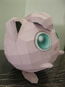 jigglypuff paper craft how to make a paper