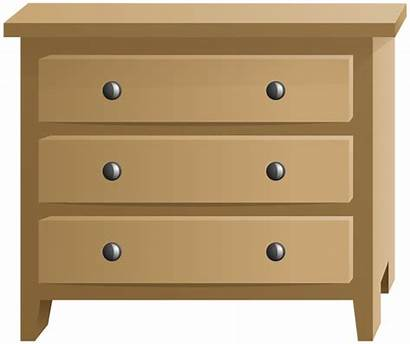 Clip Commode Transparent Wooden Clipart Furniture Yopriceville