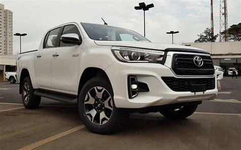 Antes Do Lançamento, A Toyota Hilux 2019 Já Está Nas Revendas