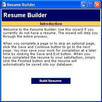 Go To Resume Builder by L L Bean Employment Help How Do I Build A Resume