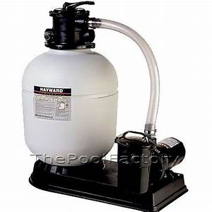 Hayward S180t Above Ground Swimming Pool Sand Filter System With 1 5 Hp Pump 610377213660