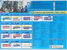 Kalender Akademik Tahun Ajaran 20122013 UAJY