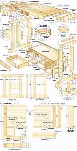 Craftsmans workbench woodworking plans 09 - WoodShop Plans