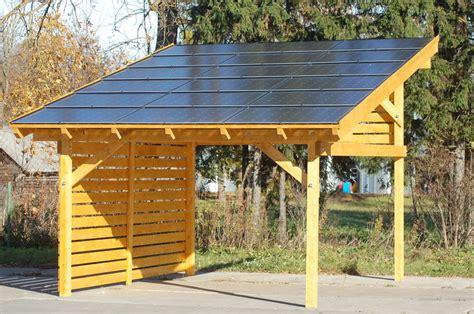 Carport Photovoltaikanlage Kaufen  Sams Gartenhaus Shop