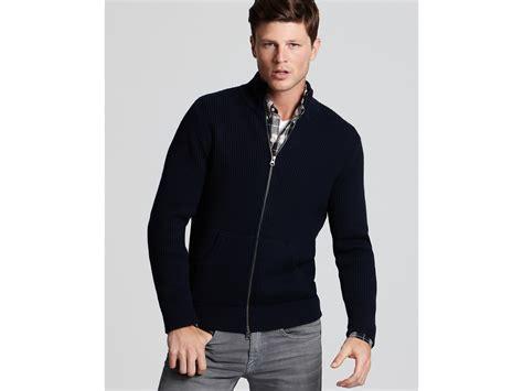 Mens Zip Cardigan Sweater/ Jumper S M L Xl Navy, Light Grey, Charcoal, Beige