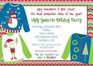 gallery ugly christmas sweater invitation template With ugly sweater christmas party invitations template