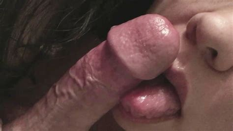 Licking Tip Teasing And Sucking His Big Head Cock