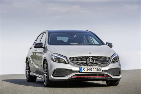 2016 Mercedes A-class Gets Updates, A45 Amg Gains More