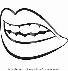 Teeth Clipart Black And White | Clipart Panda - Free ...