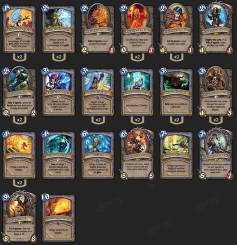 hearthstone decks mage deck mage brm hearthstone heroes of warcraft